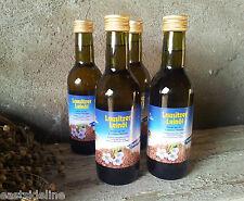 4 x 250ml Lausitzer Leinöl mühlenfrisch & kaltgepresst Speiseleinöl Speiseöl 1 L