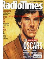 BENEDICT CUMBERBATCH Radio Times Mags ALL 3 COLLECTABLE COVERS The Oscars