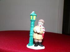 lefton colonial village figurines: Ivan The Lamplighter 06741