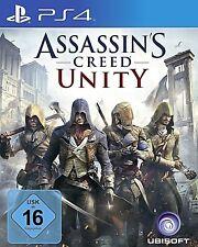 Assassins Creed Unity PS4-Spiel Neu