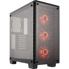 Corsair Crystal 460X RGB, Tower-Gehäuse, schwarz