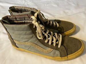 Vans Sk8 Hi Men's Size 11.5 Leather High Top Skateboarding Sneakers Shoes