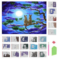 DIY 5D Diamond Painting Embroidery Cross Stitch Picture Art Craft Kit Home Decor