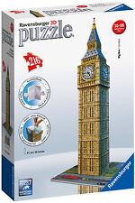Ravensburger Big Ben 3D Puzzle - Make Big Ben in 3D - NEW