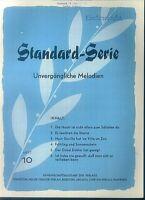 Standard-Serie - Unvergängliche Melodien - Heft 10