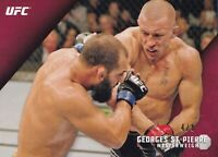 Georges St-Pierre 2015 Topps UFC Knockout Red Card #20 #4/8 GSP 217 167 158 154