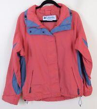 Columbia Bugaboo Core Interchange Jacket Coat Women's Size M Orange Gray