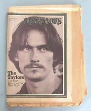VINTAGE - ROLLING STONE MAGAZINE - No. 76 - FEB. 18, 1971 - JAMES TAYLOR FAMILY