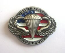3D U.S PARATROOPS (Badge émail / Pins)