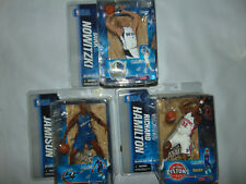 3) Richard Hamilton/Dirk Nowitzki Figure White Jersey Variant NBA McFarlane Rare