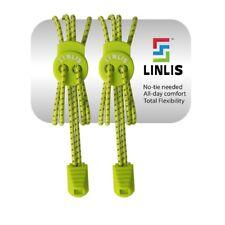 Elastische Schnürsenkel ohne zu schnüren LINLIS Stretch FIT Komfort Grün-2
