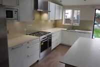 Granite and Quartz Kitchen Worktops White Marble Worktop-Custom Made Brand New