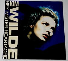 "Kim Wilde ‎/ Hey Mister Heartache 7"" 1988 Excellent- picture sleeve"