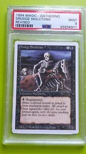 Drudge Skeletons 1994 Revised English Graded PSA 9 MINT Magic the Gathering Card
