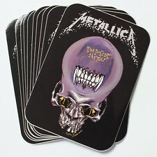 Wholesale Vinyl Stickers Official Metallica Thrash Metal Band Logo Skull