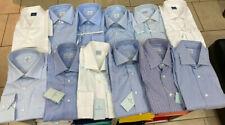 Camicie Truzzi Cucite veramente a mano con collo italiano senza bottoni. Regular