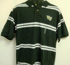 Wake Forest University Deamon Deacs Polo Shirt Adult XL Free Shipping WFU
