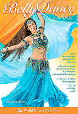 Belly Dance with Veil, taught by Sarah Skinner: Open level bellydance classes, B
