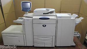 Xerox DocuColor DC 250 Digital Colour printing press copier photocopier+finisher