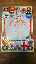Shell Historical Map of England and Wales by Lg Bullock
