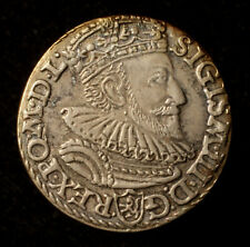 Sigismund III., Dreigröscher 1592 Marienburg, überdurchschnittliches Gewicht, R!
