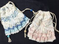 PRETTY 2 Scaterbout Lavender sachets or special Gift card Pouch Hang on a nail!