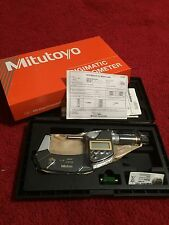 Electronic Digital Micrometer, Mitutoyo, 293-186 BRAND NEW NEVER OPENED