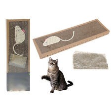 New Scratching Pad Mat For Cat Pet Flat Board Bed Scratcher Post Pole Catnip Toy