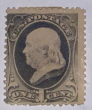 Travelstamps: 1881-82 US STAMPS SCOTT #206  Franklin Mint OG H
