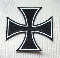 Eisernes Kreuz klein Aufnäher Ritterkreuz Patch Iron Cross