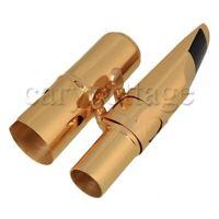 Golden Saxophone Mouthpiece for B flat Tenor Saxophone Length 110mm