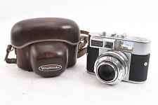 Voigtlander Vitomatic IIa 35mm Rangefinder Camera Color Skopar 50mm Lens RA91