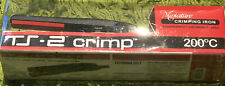 New TS-2 Crimp Miniature Crimping Iron, A Tourmaline Tourmaline, Ceramic, ionic