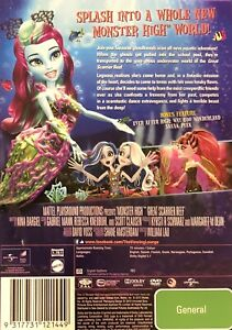 145🆕sealed-Monster High Great Scarrier Reef R4 Dvd Rare