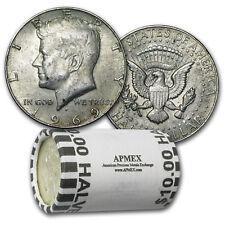 40% Silver Coins $10 Face Value Roll Avg Circ - SKU #4021