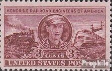 USA 611 (kompl.Ausg.) postfrisch 1950 Lokomotivführer in Amerika