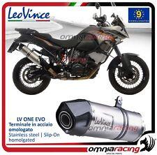 Leovince LV One Evo Auspuff stahl KTM 1190 /R ADVENTURE 2013>2016