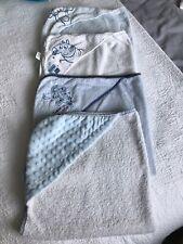 4x Baby Boys Bath Towels Disney, Peppa Pig & Clair De Lune