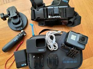 GoPro HERO6 Black Caméra d'action numérique HD 4K + Accessoires