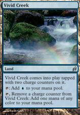 [1x] Vivid Creek - Foil [x1] Lorwyn Slight Play, English -BFG- MTG Magic