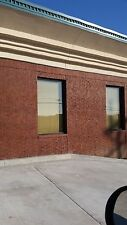 "4  BRONZE Storefront Windows *Any size up to 48"" wide x 84"" tall* Glass included"