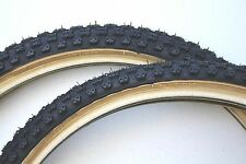 OLD SCHOOL BMX TYRES COMP 3 SKIN WALL CST SOLD IN PAIRS BLACK 24 X1.75 X2