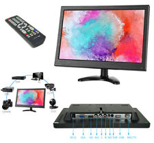 Monitor HDMI VGA Schermo LCD TFT 13.3 POLLICI 1080p Altoparlante BNC USB RCA