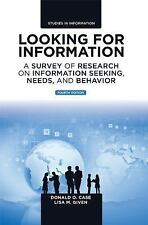 Studies in Information: Looking for Information : A Survey of Research on...