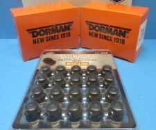 Complete Wheel Lug Nut Lock Set (20) Spline Drive Matte BLACK M12-1.50 Expedited