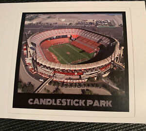 "San Francisco 49ers Candelstick Park Decal Sticker NFL Football 3.1"" x 2.9"""