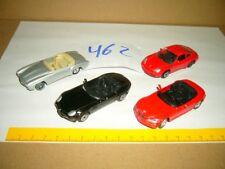 Konvolut Nr. 462 Modellautos WELLY BMW Z3, Mercedes 190 SL, Porsche 911, BMW Z8