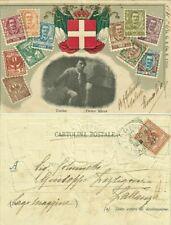 GG1260-TORINO- PIETRO MICCA,CART. POSTALE- ED.H-G- & Co.Z,TORINO A PALLANZA,1905
