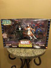 Marvel Legends Urban Legends DAREDEVIL PUNISHER ELEKTRA SPIDER-MAN  2003 ~ MISB