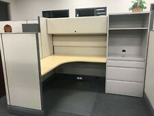 Nice Amp Functional Herman Miller 6x8 Office Cubicles Cluster Of 6 Workstations